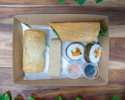 Lunch Tray - Option 5 - Vegan