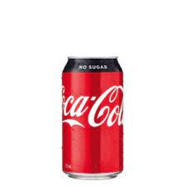 Soft Drink Can - 330ml - Coke No Sugar